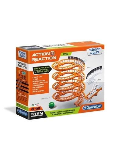 Clementoni 19168 Action & Reaction - Spiral Yaylar / Ek Paket - Genişletme Kiti / +8 Yaş Renkli
